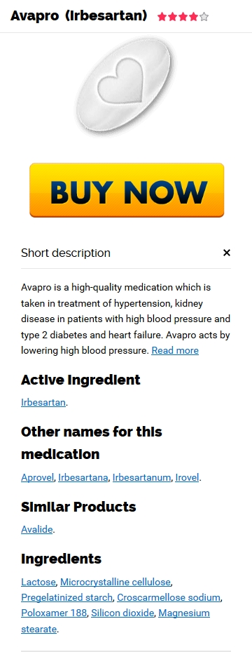 Cost Of Avapro 150 mg generic