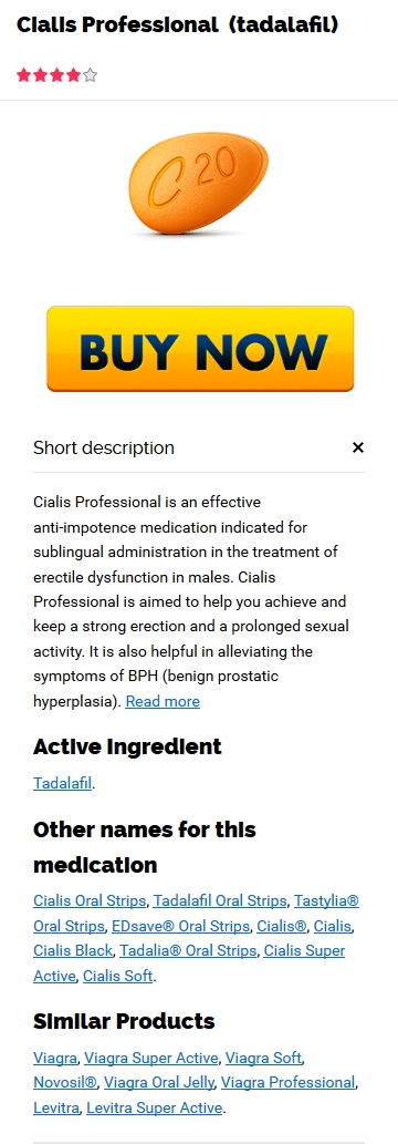 Mail Order 20 mg Professional Cialis compare prices