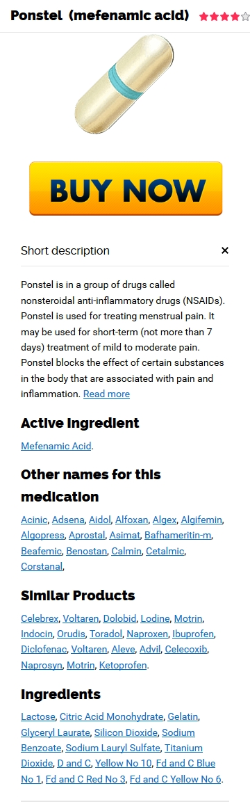 Cheapest Ponstel Generic Pills Purchase